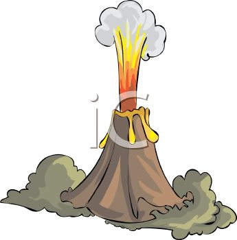 erupting volcano royalty free clip art illustration rh clipartguide com clipart volcano volcano clipart free