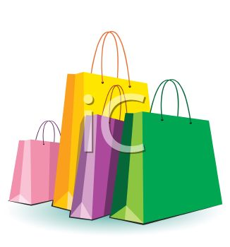 different colored shopping bags royalty free clip art picture rh clipartguide com shopping bag clipart black and white shopping bag clipart black and white