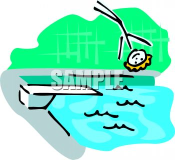 stick figure falling off a diving board into a pool royalty free rh clipartguide com clip art pool stick clip art pool party invitation