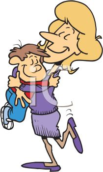 royalty free clip art image mother hugging her little boy rh clipartguide com hugging clipart images bears hugging clipart