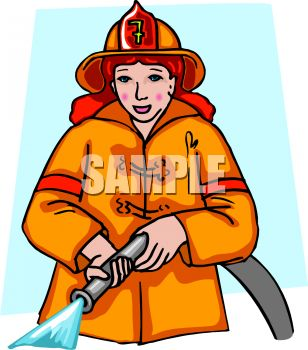 lady firefighter royalty free clip art illustration rh clipartguide com firefighter clipart black and white fire fighter clipart