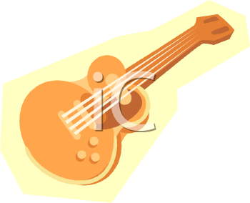 Electric Guitar Royalty Free Clipart Picture