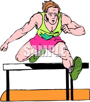 track and field event man running hurdles royalty free clipart picture rh clipartguide com Track and Field Silhouette Clip Art Nature Field Trip Clip Art