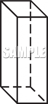 Royalty Free Clipart Image: Black and White Outline of a ...