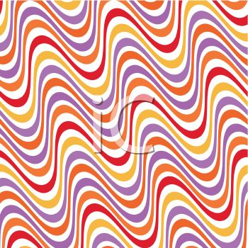 Waving Stripes Background