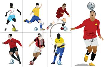 royalty free clip art image collection of soccer players rh clipartguide com soccer player clipart png soccer player clipart png