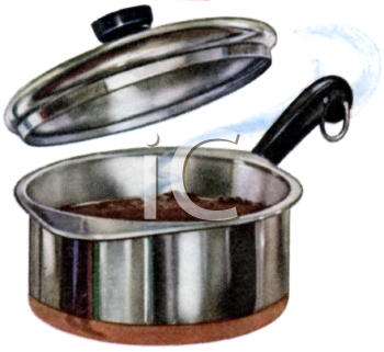 Stainless Pot with a Lid