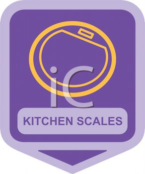 Small Appliance Icon-Kitchen Scales