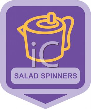 Small Appliance Icon-Salad Spinner