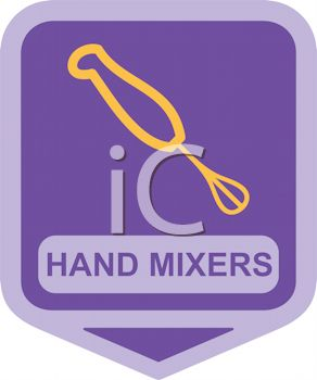 Small Appliance Icon-Hand Whipper Mixer
