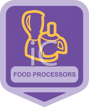 Small Appliance Icon-Complex Food Processor