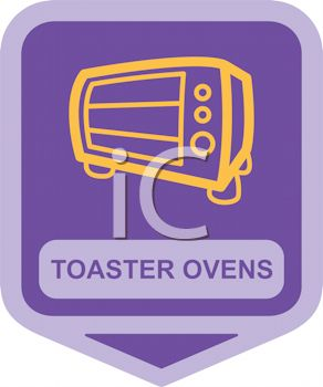 Small Appliance Icon-Glass Front Toaster Oven