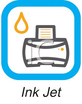 Business Icon-Ink Jet Printer