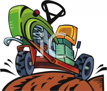 Cartoon of a Tractor