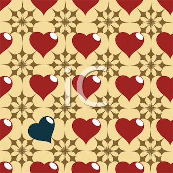 One of a Kind Heart Background
