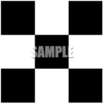 black and white checkered tie. Black and White Checkered