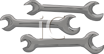 Set of Spanner Wrenches