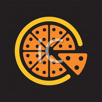 pizza clip art. This quot;pizza pie iconquot; clipart
