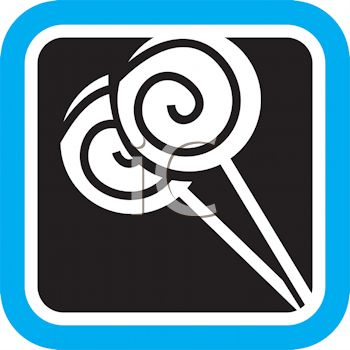 Spiral Lollipops Icon