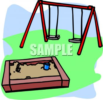 playground toys sandbox and swing set royalty free clip art picture rh clipartguide com playground clipart free download Free Pig Clip Art
