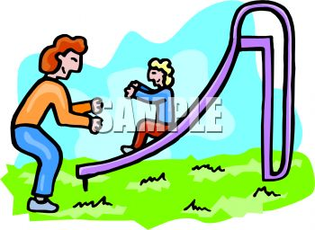 mom and her little girl playing at the park royalty free clip art rh clipartguide com clip art parking lot clip art parking lot
