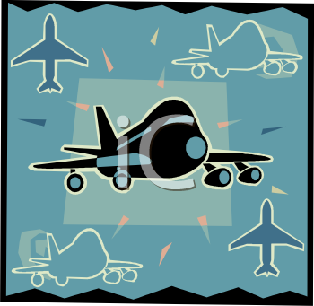 Transportation Icon Design-Passenger Jet