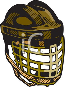 Goalie Mask and Throat Guard
