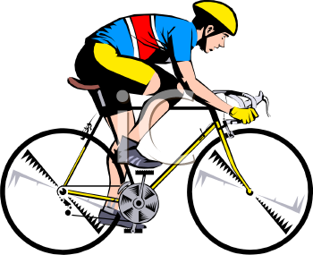 cyclist in training royalty free clipart image rh clipartguide com cyclist clipart black and white cyclist clipart