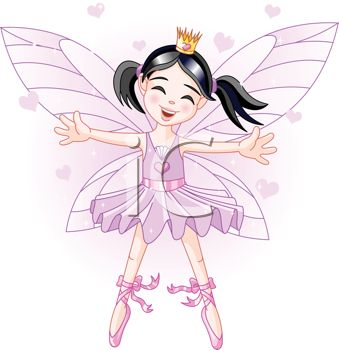 Faerie Princess with Her Arms Outspread in Welcome