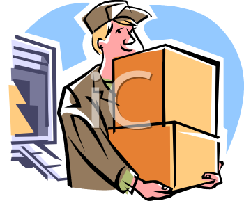 house mover carrying boxes royalty free clip art illustration rh clipartguide com boxes clipart free moving boxes clipart free