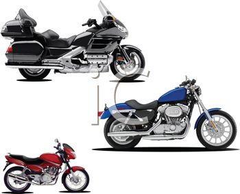 Realistic Motorcycle Collection