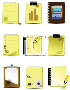 Collection of Notepad Icons