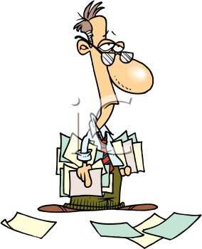 tired accountant holding a bunch of papers royalty free clip art rh clipartguide com tire clip art free tire clip art vector