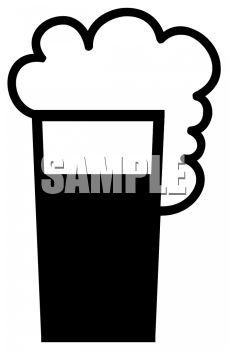 Glass of Foamy Beer Icon