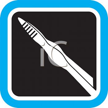 Tweezers Icon for Grooming