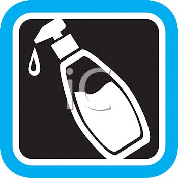 Hand Lotion in a Pump Dispenser Icon