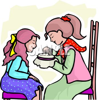 mother teaching her daughter needlework royalty free clip art rh clipartguide com mother and daughter hugging clipart mother and daughter talking clipart