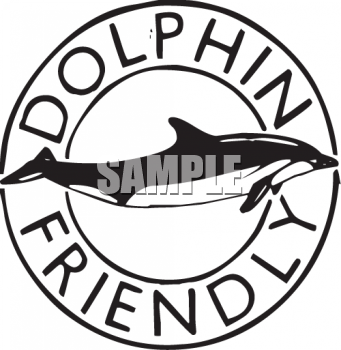 Dolphin Friendly Symbol