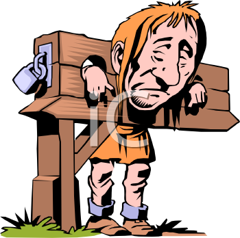 medieval prisoner in stocks royalty free clipart picture rh clipartguide com medieval clipart free medieval clipart border