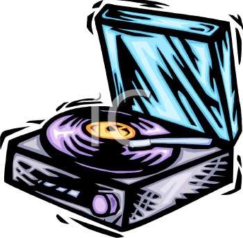 royalty free clip art image record player with a lp playing on it rh clipartguide com  turntable clip art free