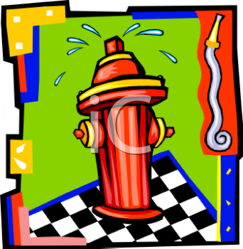 cartoon fire hydrant design   royalty free clip art image