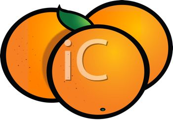 Simple Oranges Icon