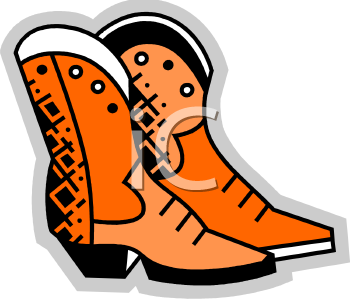 Cowboy Boots Icon