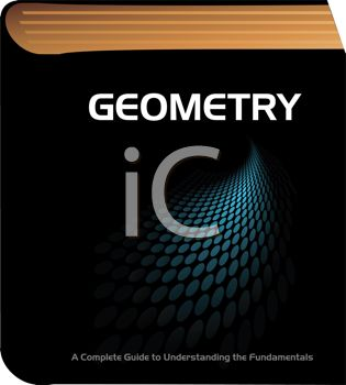 Geometry book for school classroom