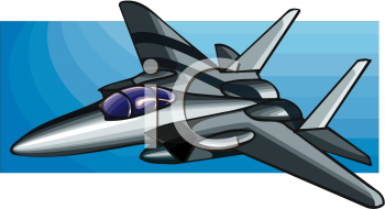 Shiny Fighter Jet