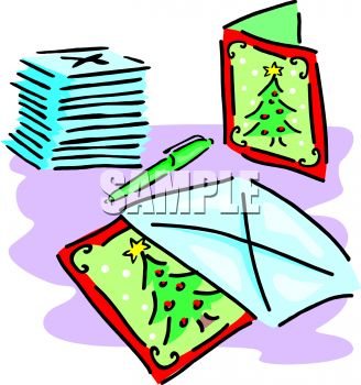 Christmas Cards and Envelopes