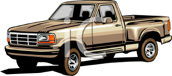 Pickup Truck Clipart - More information