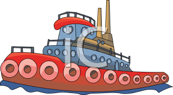 tugboat royalty free clipart picture rh clipartguide com cartoon tugboat clipart Tugboat SVG
