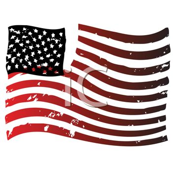 Distressed American Flag-Old Glory