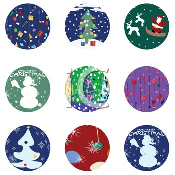 Collection of Christmas Decals